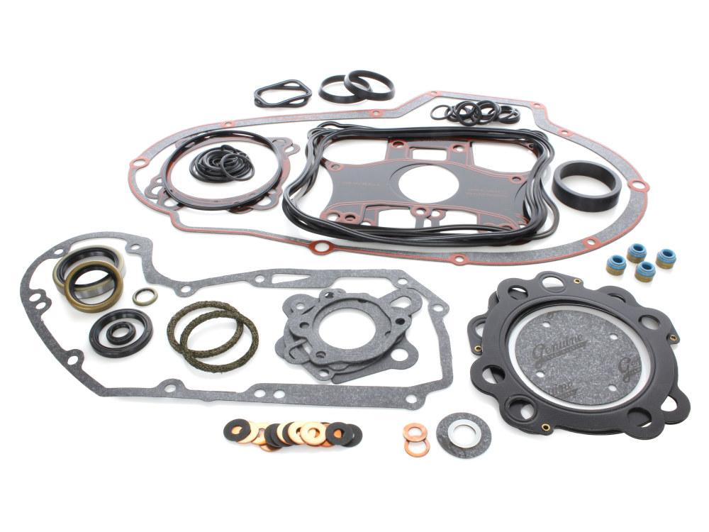 Engine Gasket Kit with Multi-Layer Steel (MLS) Head Gaskets. Fits Sportster 1986-1990.
