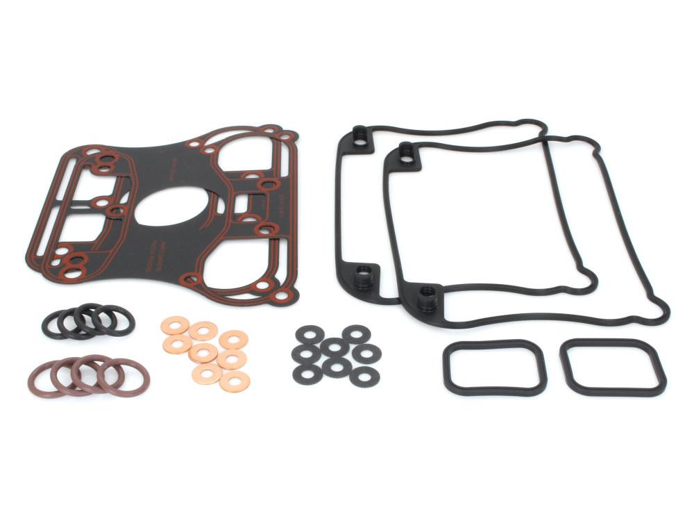 Gasket Kit; Rocker Sportster'04-06w/Metal Rocker Base Gaskets (Kit)