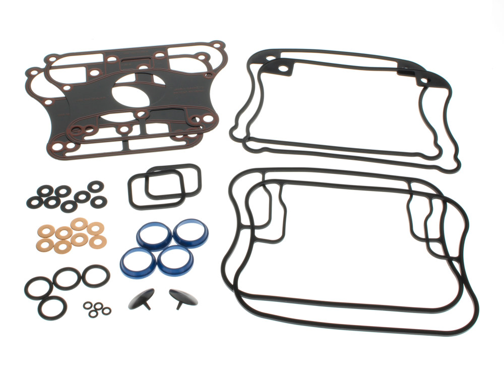Gasket Kit; Rocker Sportster'91-03w/Metal Rocker Base Gaskets (Kit)