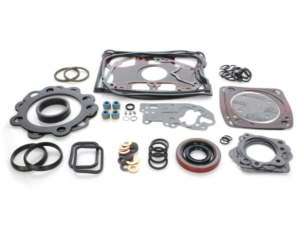 Engine Gasket Kit with Multi-Layer Steel (MLS) Head Gaskets. Fits Big Twin 1984-1991.