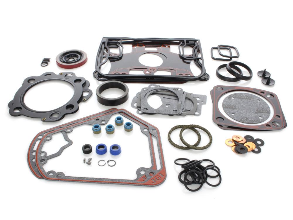 Engine Gasket Kit with Multi-Layer Steel (MLS) Head Gaskets. Fits Evo Big Twin 1992-1999.