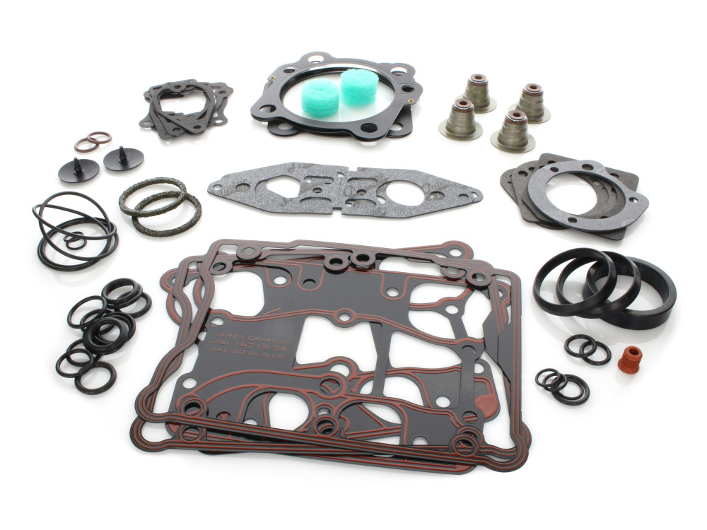 Top End Gasket Kit with Multi-Layer Steel (MLS) Head Gaskets. Fits Big Twin 2005up  95