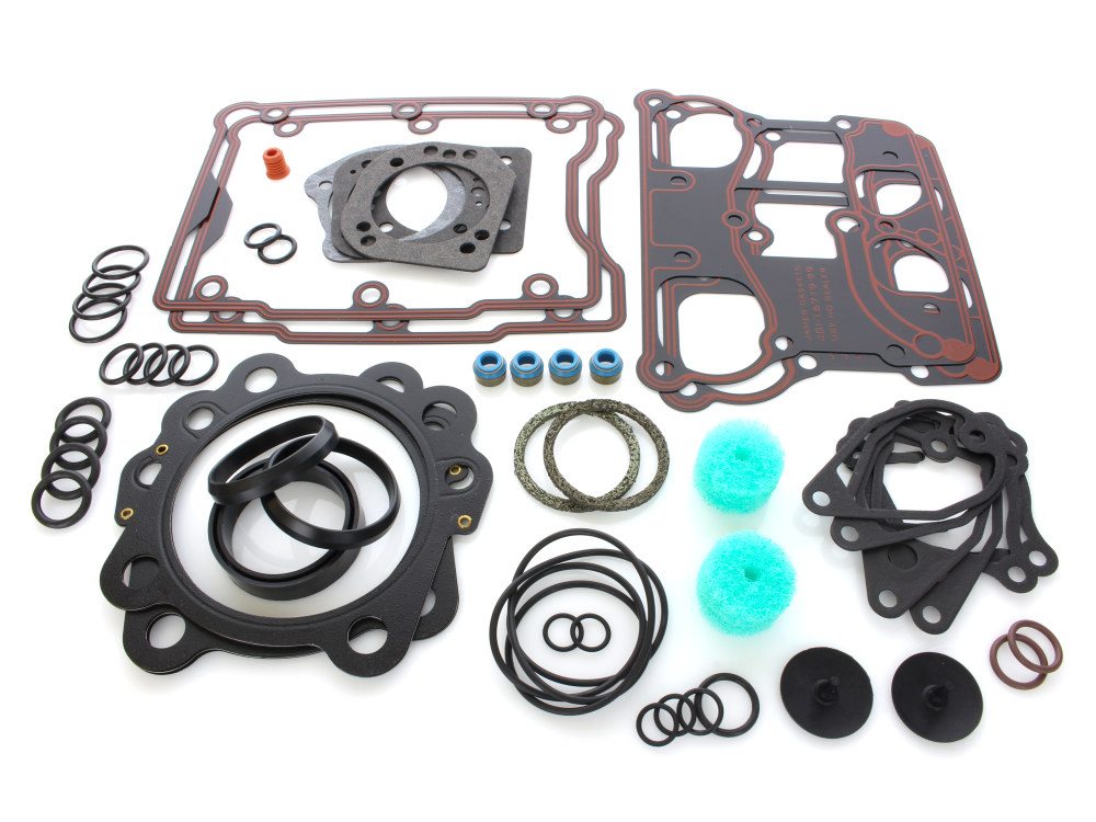 Top End Gasket Kit with Multi-Layer Steel (MLS) Head Gaskets. Fits Big Twin with 95