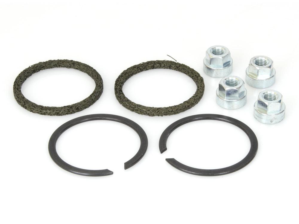 Gasket Kit; Exh Big Twin'84upS/Eagle Type w/Flange Nuts (Kit)