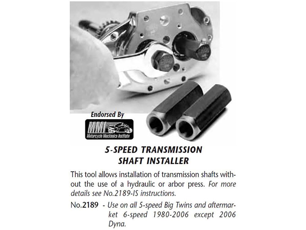 Tool; Trans Shaft Seal Installer; BT'80-06 5spd (exc FXD'06)