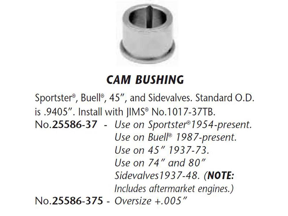 Bush; Cam Cvr XL'57-90 +.005 Cams #1, 3 & 4 (3 req'ed)