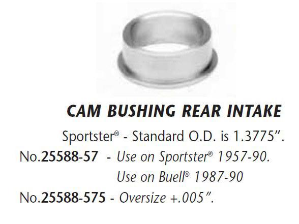 Bush; Cam Cvr XL'54-90 +.005 Cam #2