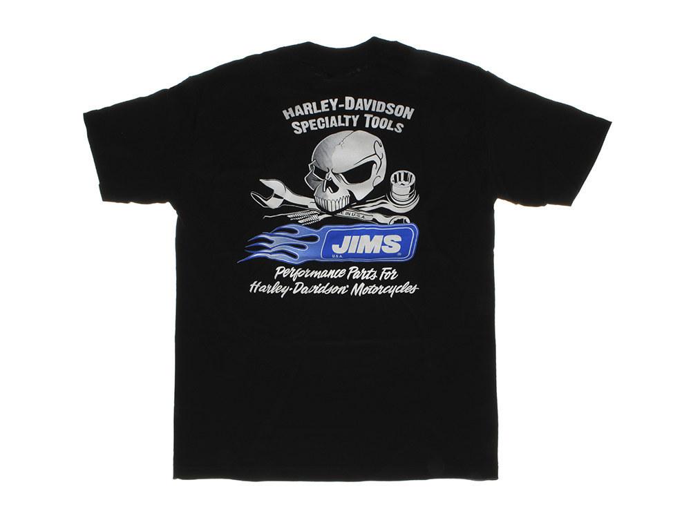 T-Shirt; Jims Skull Blk - XL