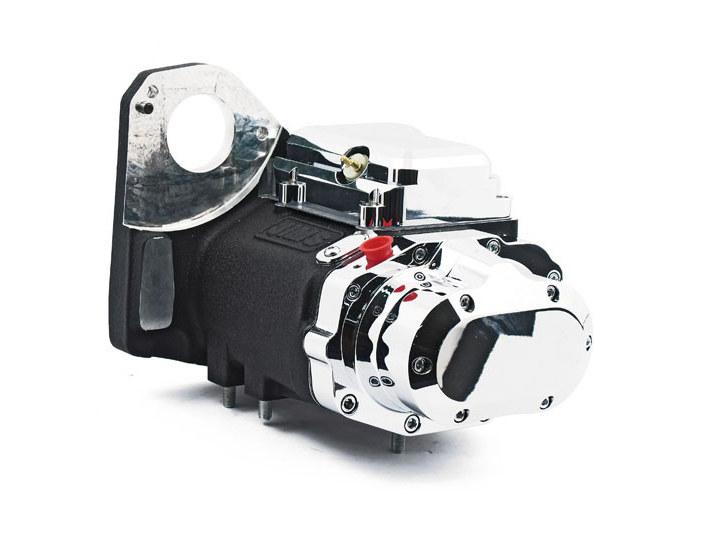 5 Speed Transmission – Black. Fits Softail 1990-1999.