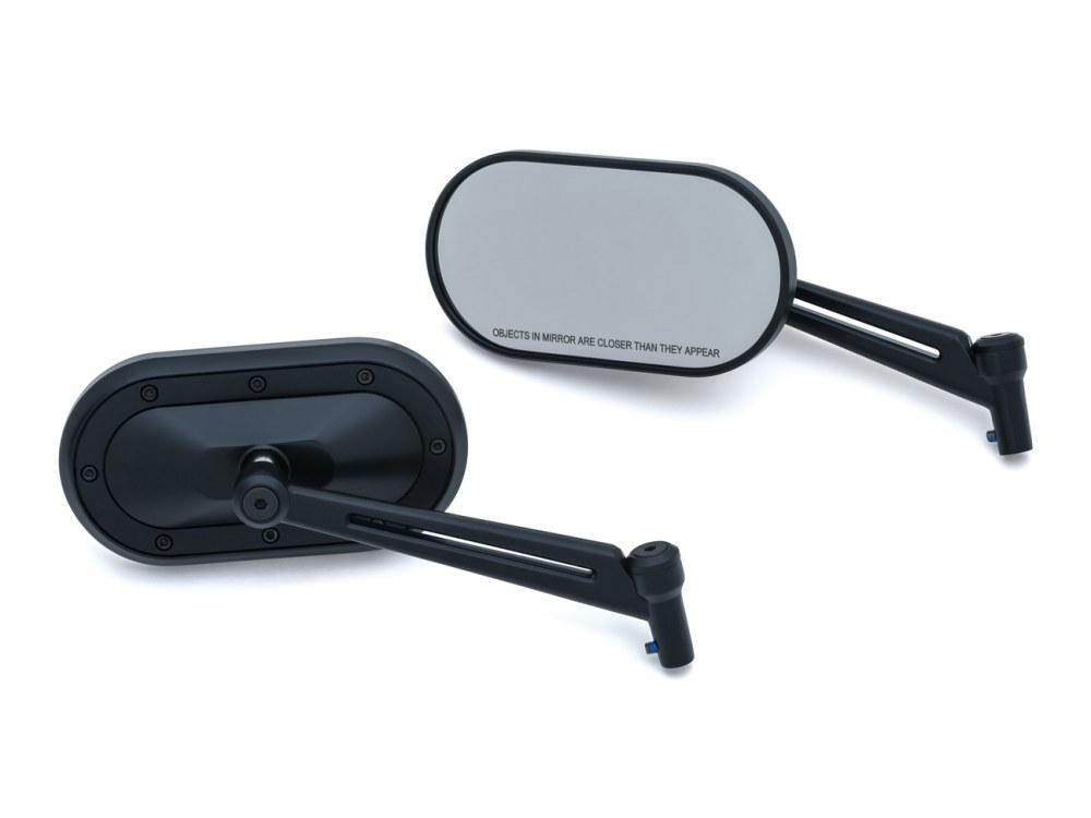 Mirror; Heavy Industry Blk (Pair)