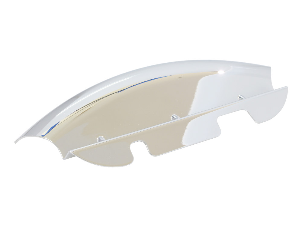 Lower Triple Tree Wind Deflector – Chrome. Fits Touring 2014up.