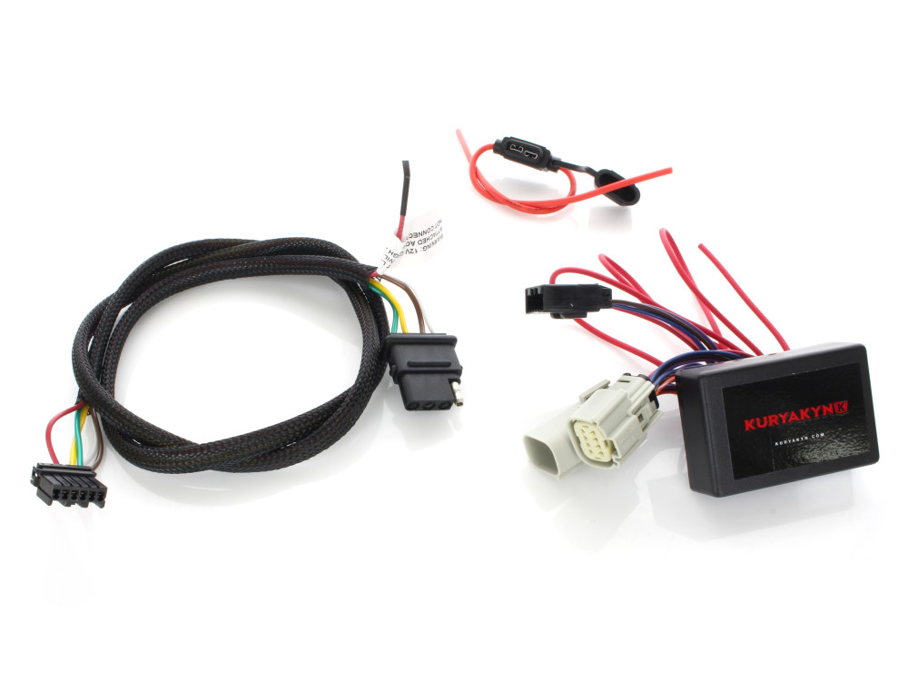 Trailer Hitch Wiring Harness. Fits Trike 2014up with 4 wire. on relay wiring plug, relay wiring kit, relay wiring guide, h13 conversion harness, h11 relay harness, 5 pin relay harness, relay wiring fan, bosch 5 pole relay harness, relay power harness, hella relays harness, relay wiring switch, relay wiring coil,