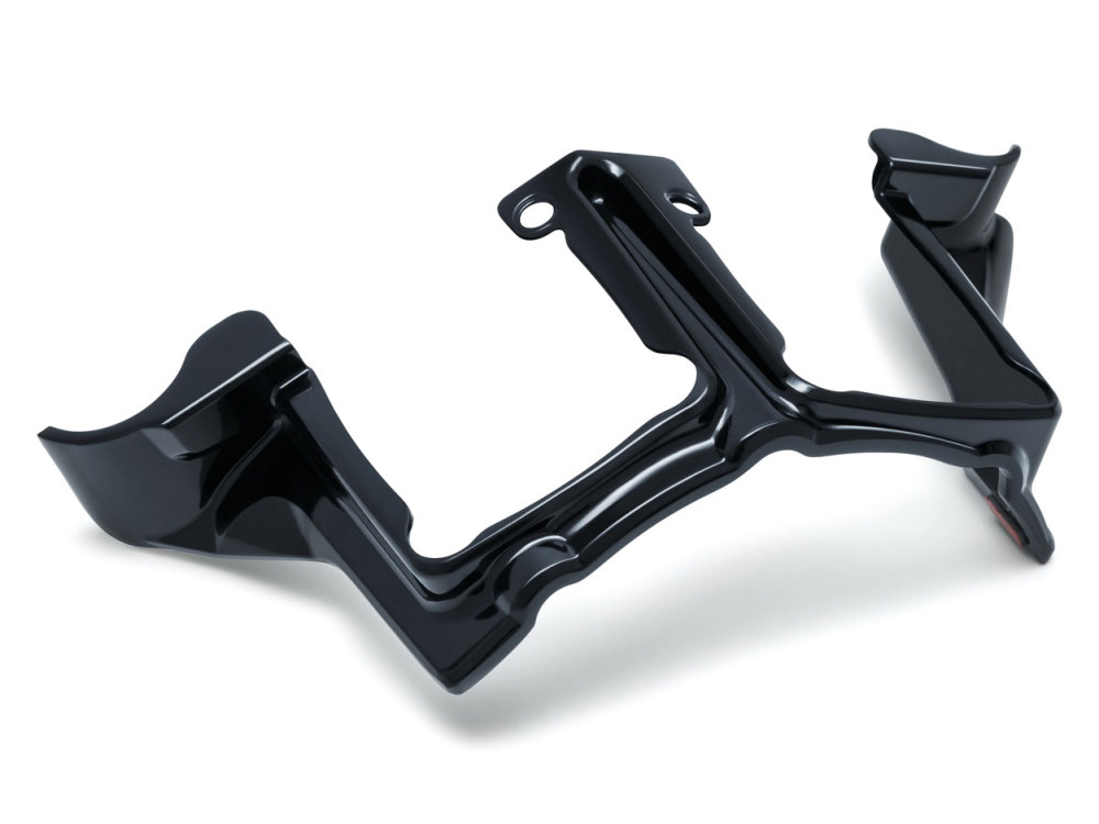 Tappet Block Accent; All M8 Models 2017up Gloss Black