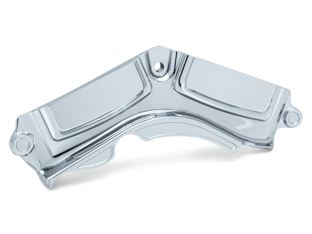 Precision Cylinder Base Cover; M8 Softail 2018up, Chrome