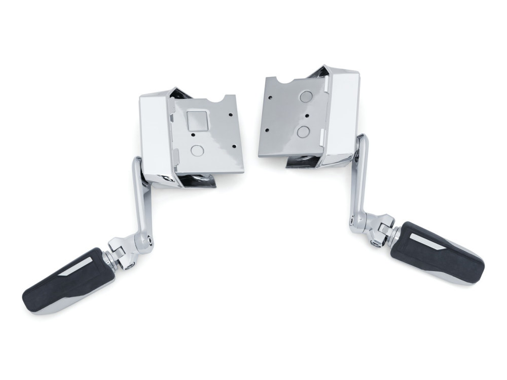Omni Cruise Mounts – Chrome. Fits Gold Wing 2018up.