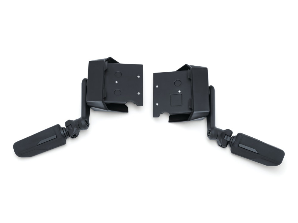 Omni Cruise Mounts – Black. Fits Gold Wing 2018up.