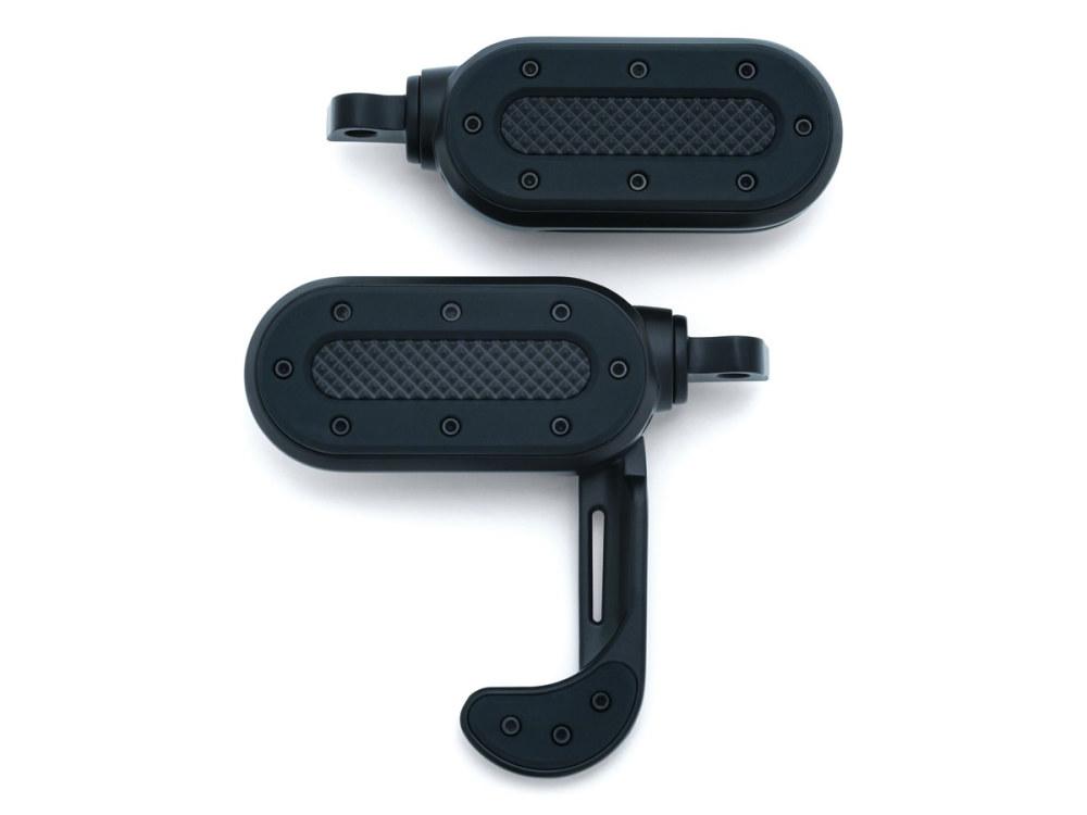 Footpegs; Heavy Industry Switchblade w/HD Male Mnt Blk
