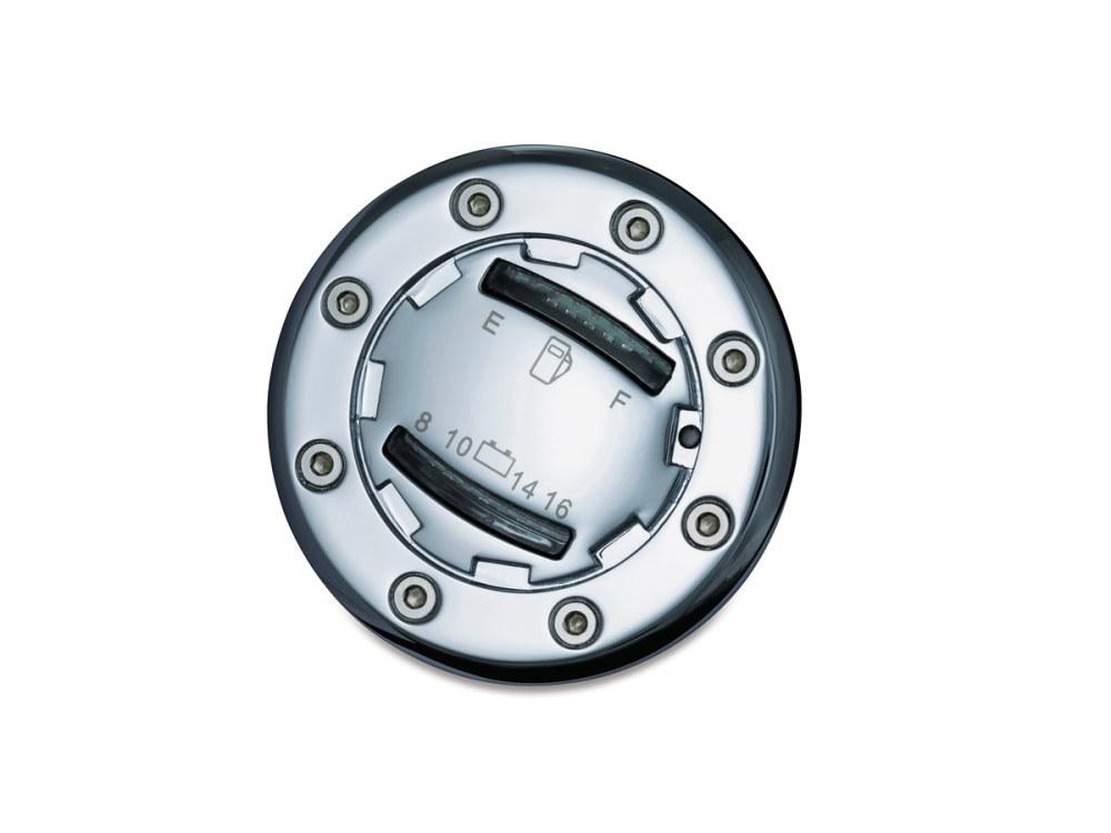Fuel/Volt Gauge; Flush Tank Mnt LED