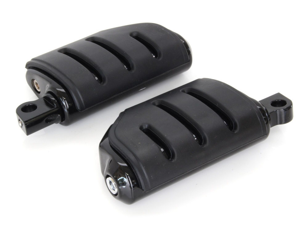 Footpegs; Trident Dually w/Male Mnt Blk
