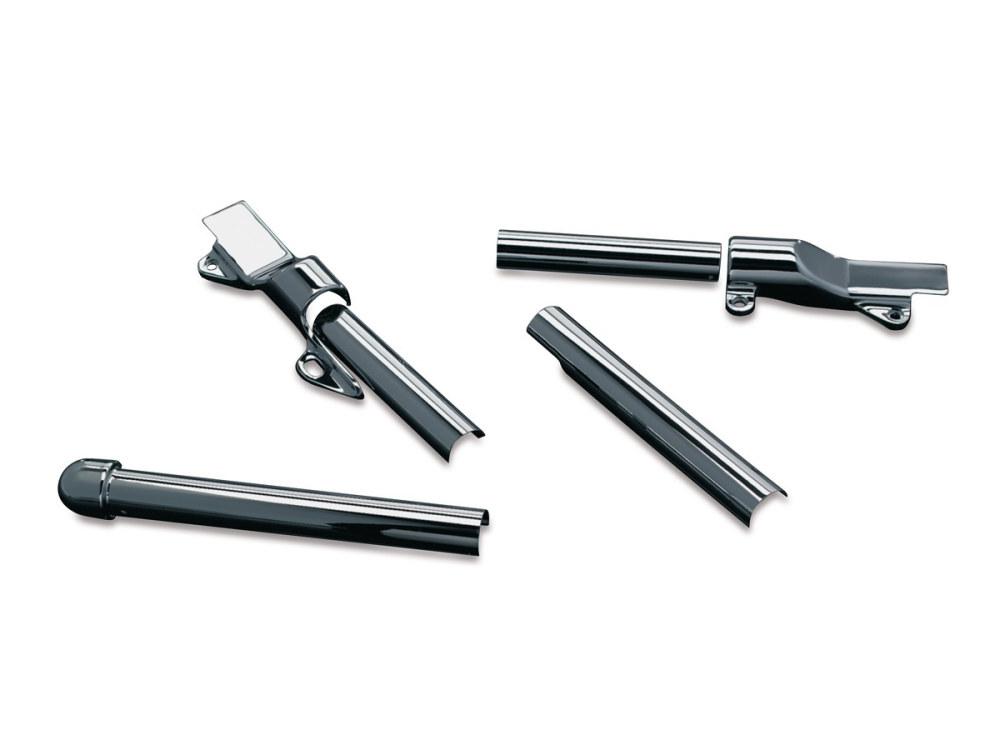 Swingarm Cvr's; Softail'00-07 Chr Tube Cvr's Only