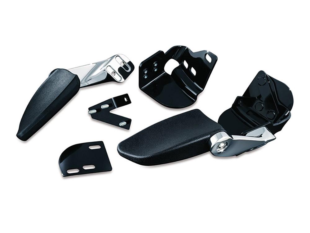 Stealth Passenger Armrests for Touring & Trike. Fits Touring 1997-2013.