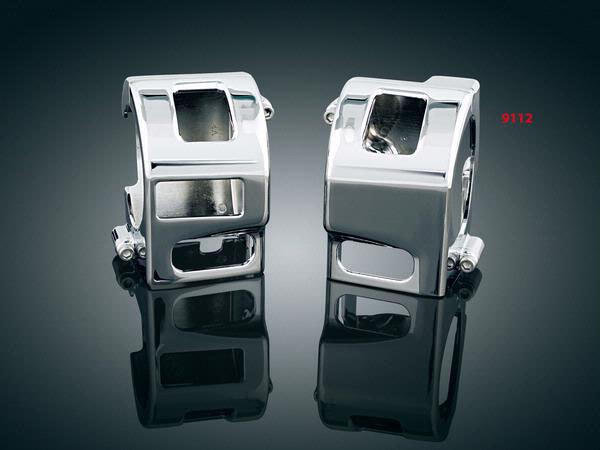 Handlebar Control Covers. Yamaha V-Star XVS650, Kawasaki & Suzuki.