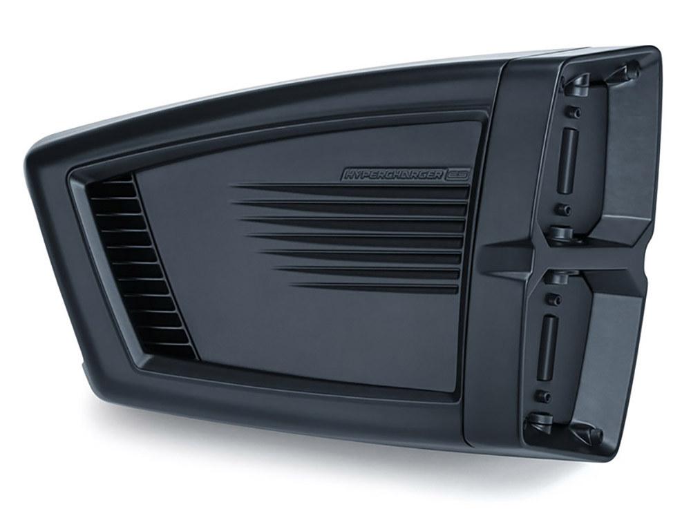 H/Charger; ES, Satin Black, BT'99up with CV Carb, BT'02up w/Delphi EFI