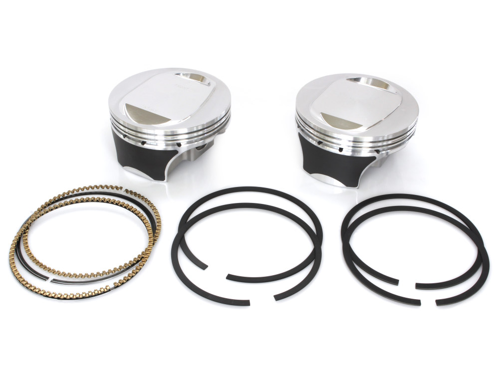 Pistons; T/Cam'07up 110ci Std 10.5:1 Forged
