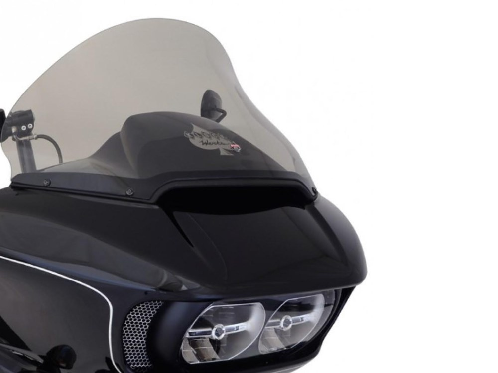 15in. Pro-Touring Flare Windshield – Tinted. Fits Road Glide 2015up.