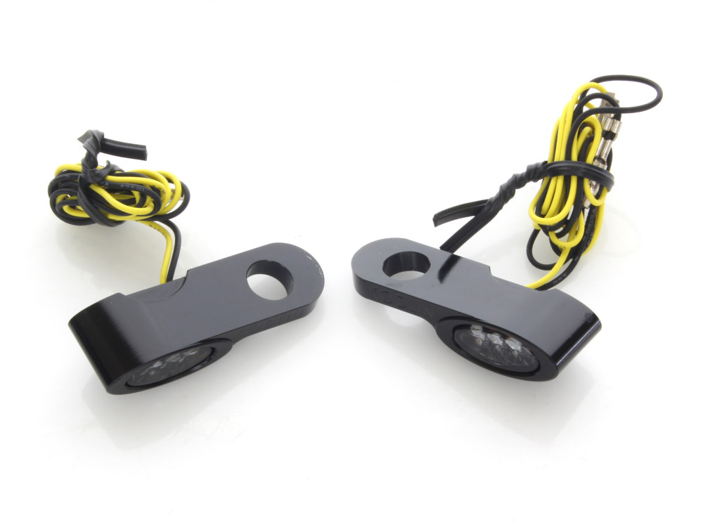 Elypse Under Perch Turn Signals – Black. Fits Most Models with Cable Clutch.