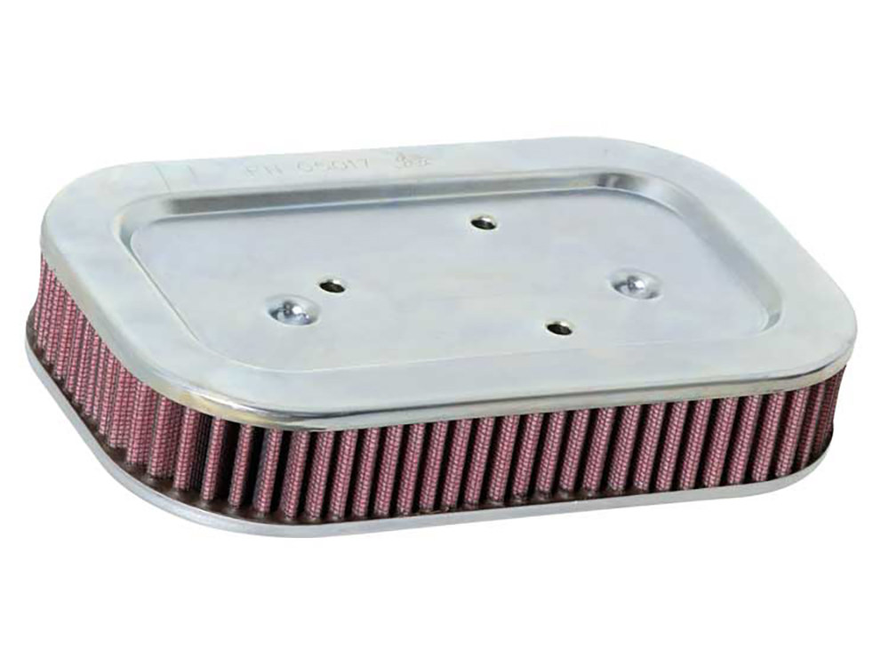 K&N Air Filter Element; Sportster'04-13. High Flow Element & OEM Replacement. Excludes Sportster 72.