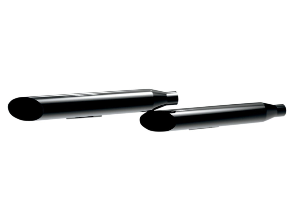 3in. HP-Plus Long Slash Cut Slip-On Mufflers - Black. Fits Dyna 2006-2017.</P><P>