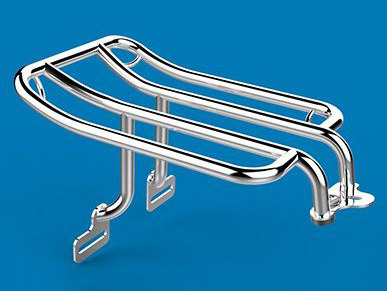 Luggage Rack; Heritage Softail Classic'86-05,FLSTF'90-06, Softail Deluxe'93-96