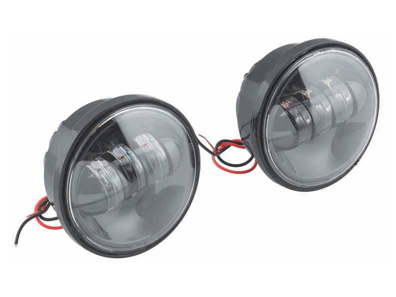 4-1/2in. LED Passing Lamp Inserts – Black.
