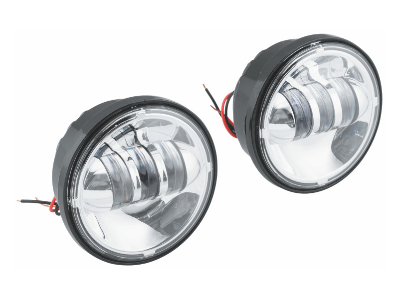 4-1/2in. LED Passing Lamp Inserts – Chrome.