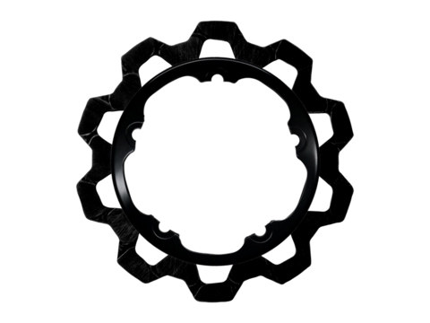 11.8in. Front Bow-Tie Disc Rotor – Black. Fits V-Rod & Dyna 2006-2017 Models with OEM Cast Wheel.