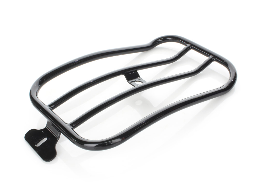 Solo Seat Luggage Rack – Black. Fits Dyna Low Rider 'S' 2016-2017 & M8 Low Rider 'S' 2020up.