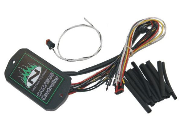 CanBus Controller. Fits Softail'2014up & Dyna'2014up with Custom Hand Controls.