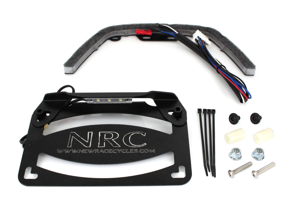 NRC-VROD-FE Fender Eliminator Kit. Fits V-Rod Night Rod Special (VRSCDX) 2012-2017.