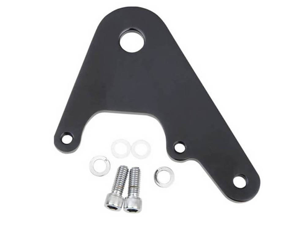 Rear Caliper Mount with Black Finish. Fits Rigid & Custom Applications with 11.5