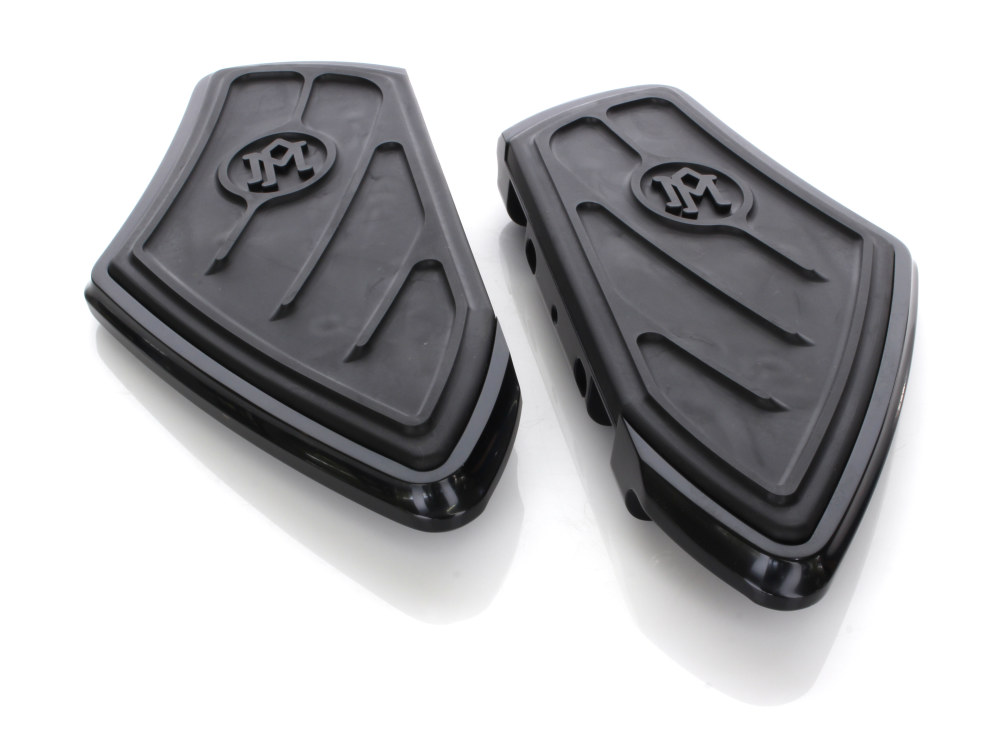 Contour Rear Floor Boards – Black. Fits Touring 1993up.