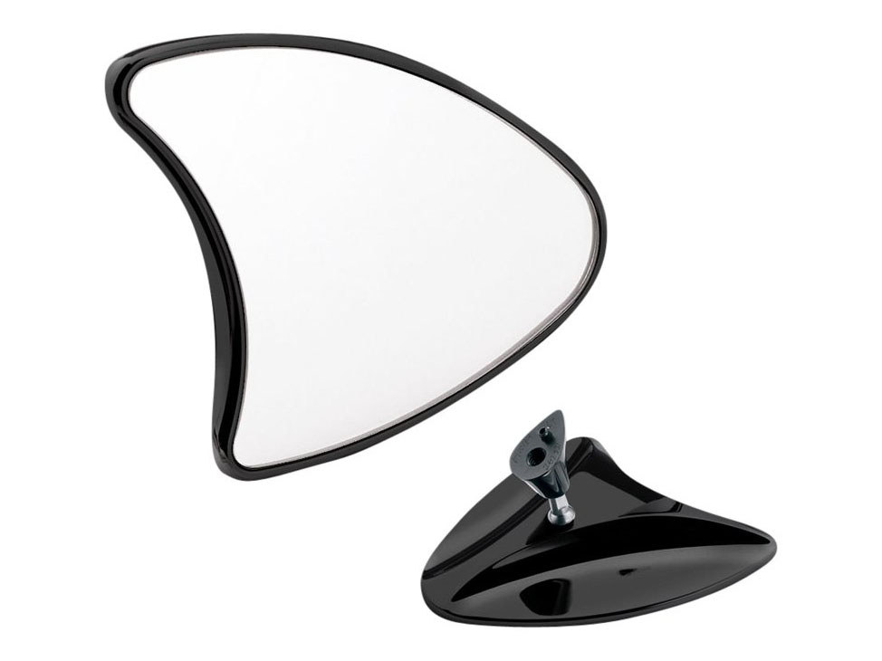 Mirror, FLH Style FLHX'06-13 & FLHT/C/CU'96-13 Blk (Pair)