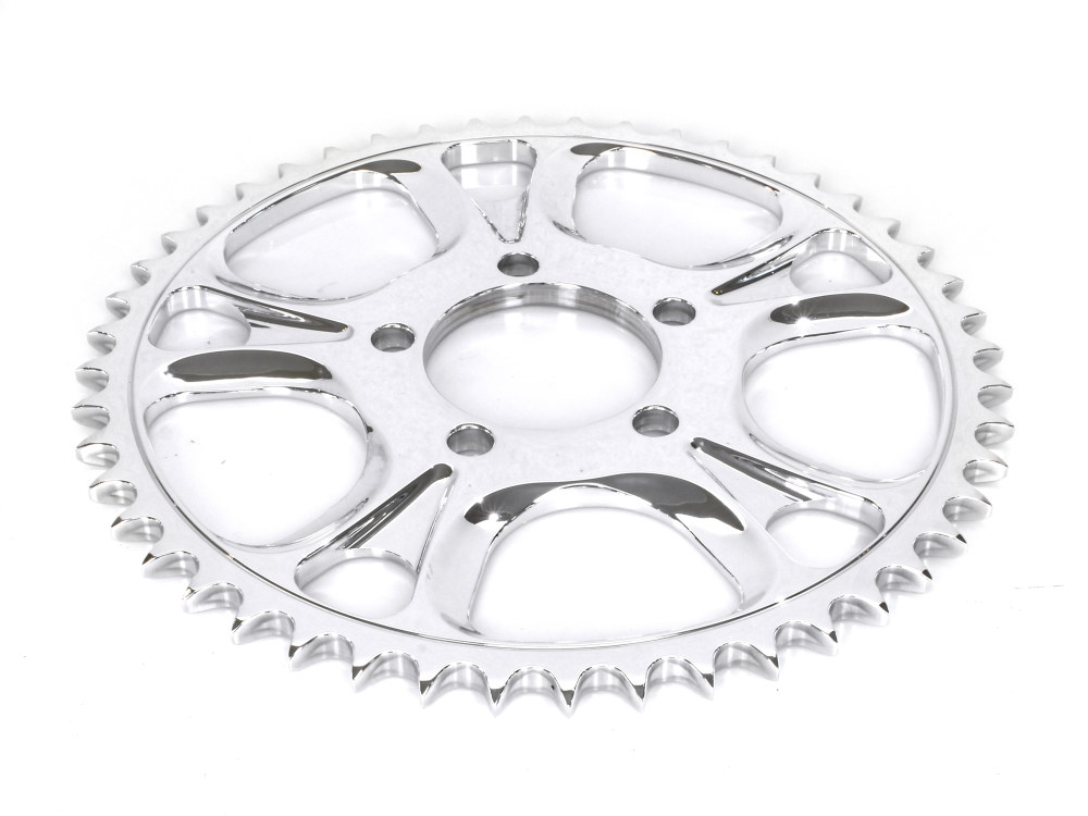 Sprocket; RR Gasser/Luxe 48T Polished (Not  Available in Chr)