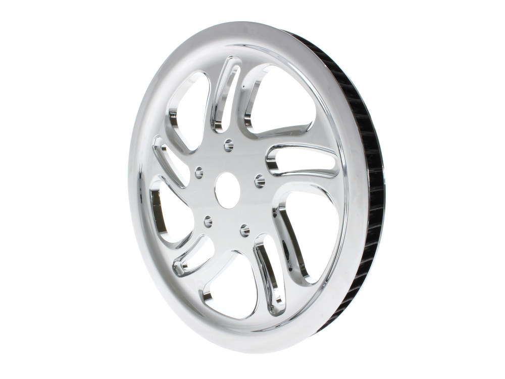 66 Tooth x 20mm Wide Rival Pulley with Chrome Finish.