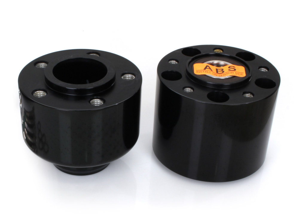 Front Wheel Hub with Black Finish. Fits FLFB 2018up with ABS.
