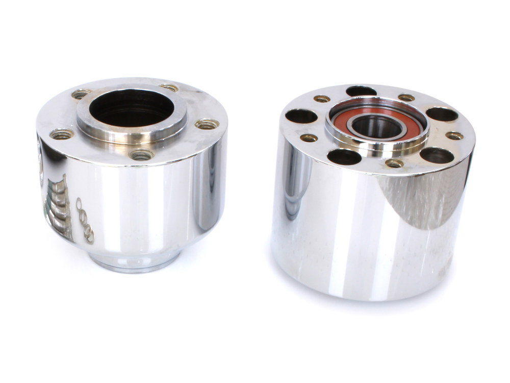 Front Wheel Hub with Chrome Finish. Fits FLFB 2018up with ABS.