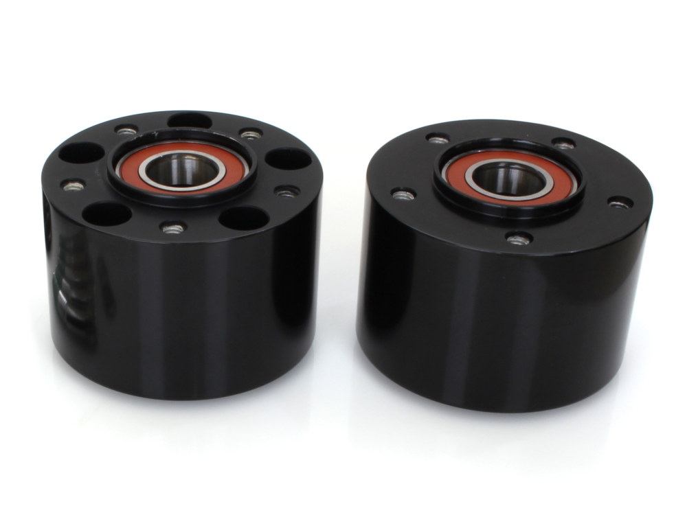 Front Wheel Hub with Black Finish. Fits FXFB & FXDR 2018up with ABS.