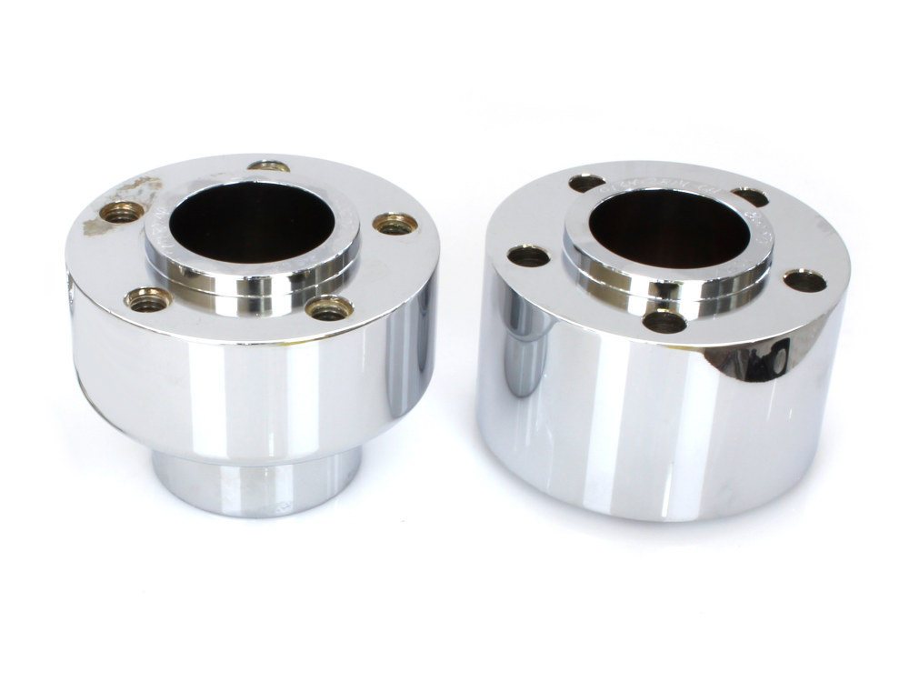 Front Wheel Hub with Chrome Finish. Fits FLSL, FLHC & FLDE 2018up Models with ABS.