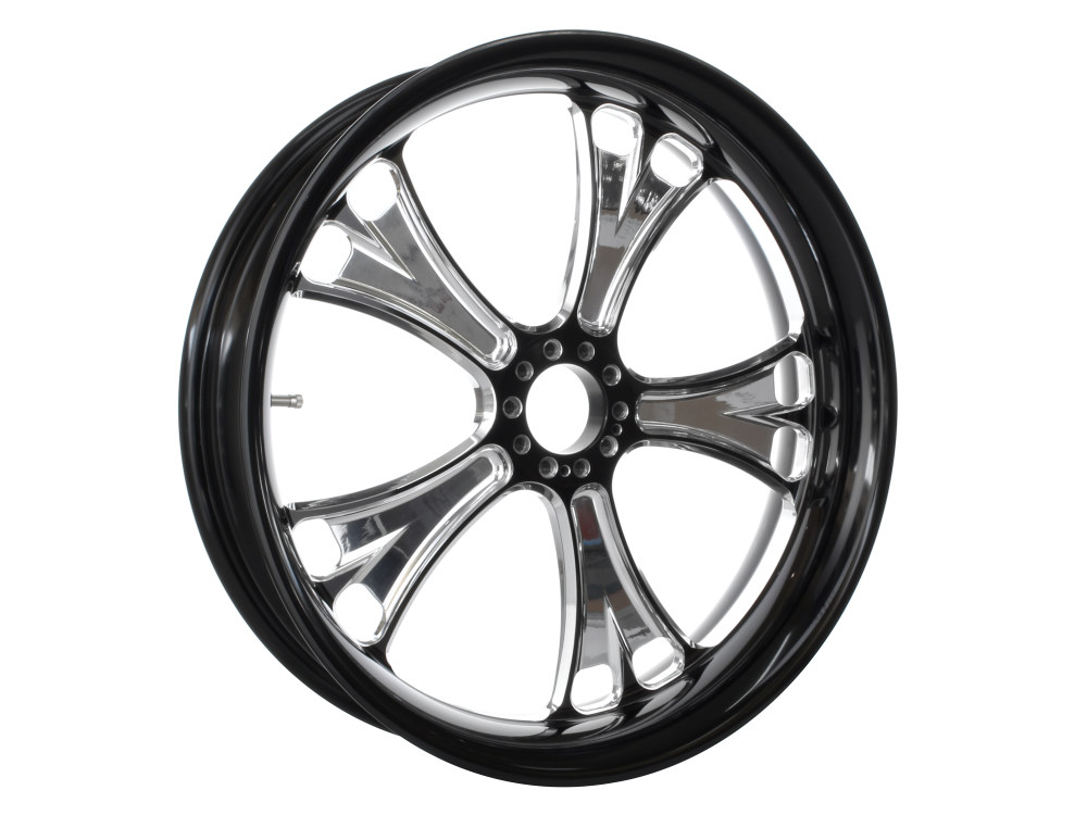 21in. x 2.15in. Gasser Wheel – Black Contrast Cut Platinum.