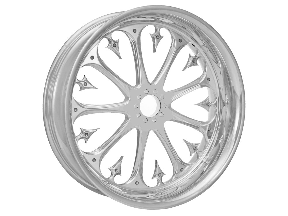 18in. x 3.50in. wide Stiletto Wheel – Chrome.